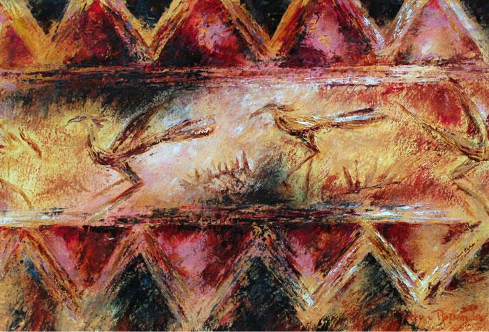 vogels - door Betty van Rossem